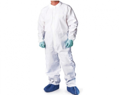 SMS Fabric Lab Coat