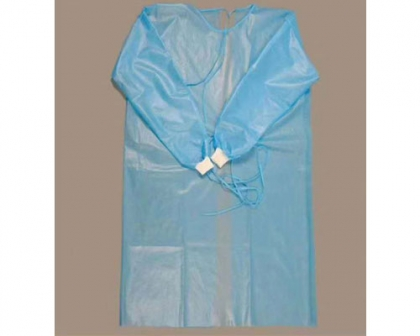 Disposable Anti-Wear Isolation Suit (PP+PE Composite)