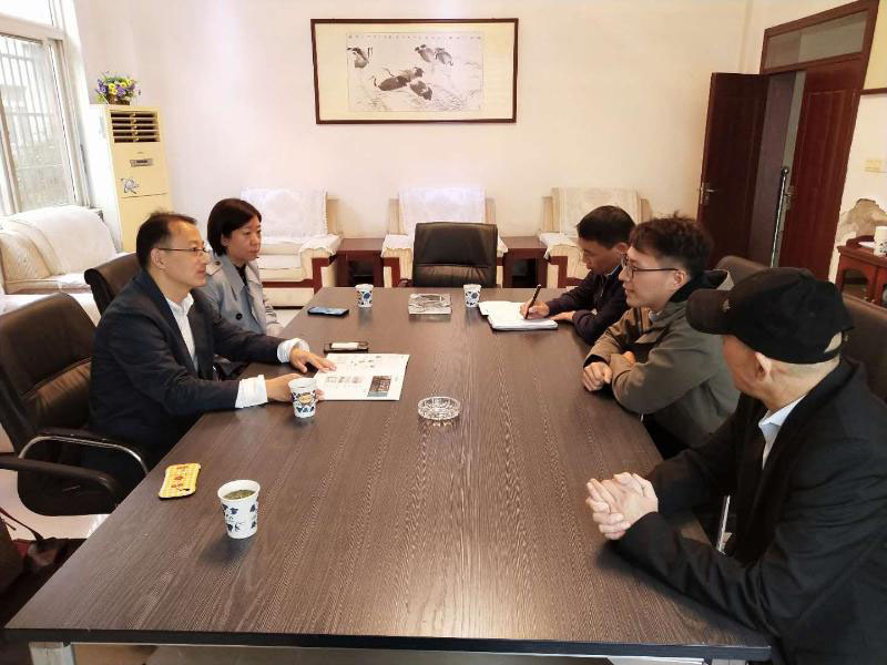 Zhang Yi, Deputy Director Of UNCTAD Division Of Provincial Department Of Commerce, And Wang Yanni, Director Of foreign Trade Division of Municipal Bureau of Commerce, Went To Yixiu District For Investigation