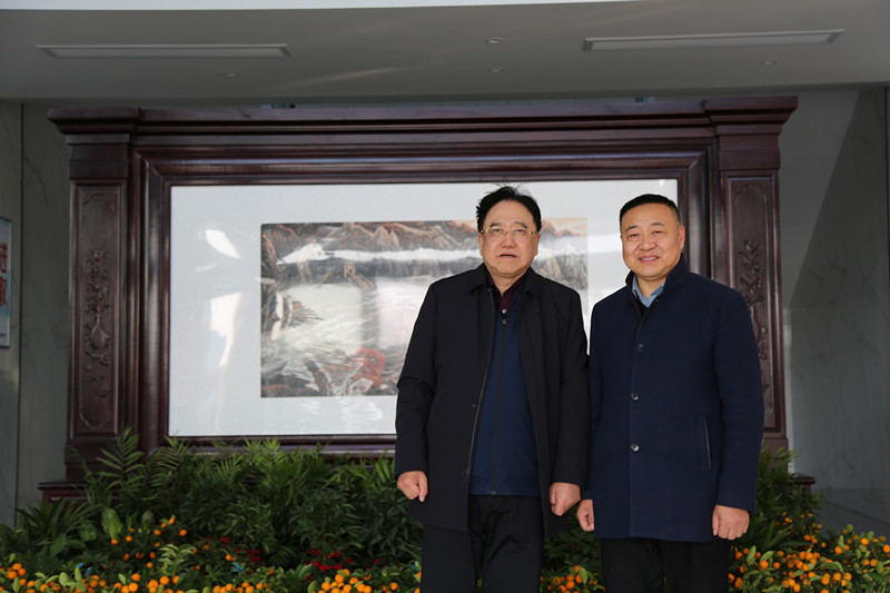 Kangmingna Warmly Welcome Academician Qian Yitai To Visit And Discuss Cooperation
